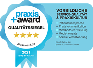 Praxisaward Siegel 2021